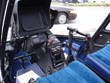 Pipeline Patrol Helicopter Cockpit
